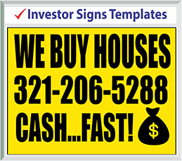 Browse Investor Signs Templates