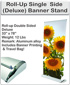 Order Deluxe Banner Stand
